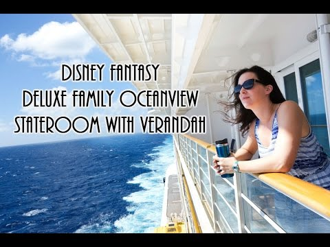 Disney Fantasy Stateroom Tour and walk to Enchanted Garden