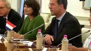 Netherlands PM Mark Rutte calls on PM Narendra Modi