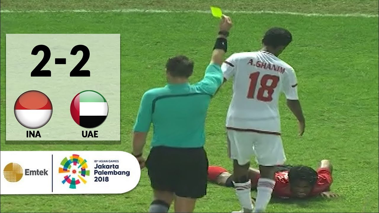 Full Highlights Sepak Bola Indonesia  United Arab