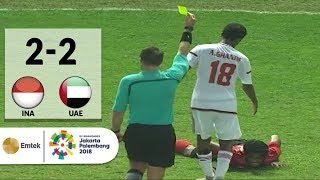 Download Video Full Highlights Sepak Bola Indonesia (2) vs (2) United Arab Emirates | Asian Games 2018 MP3 3GP MP4