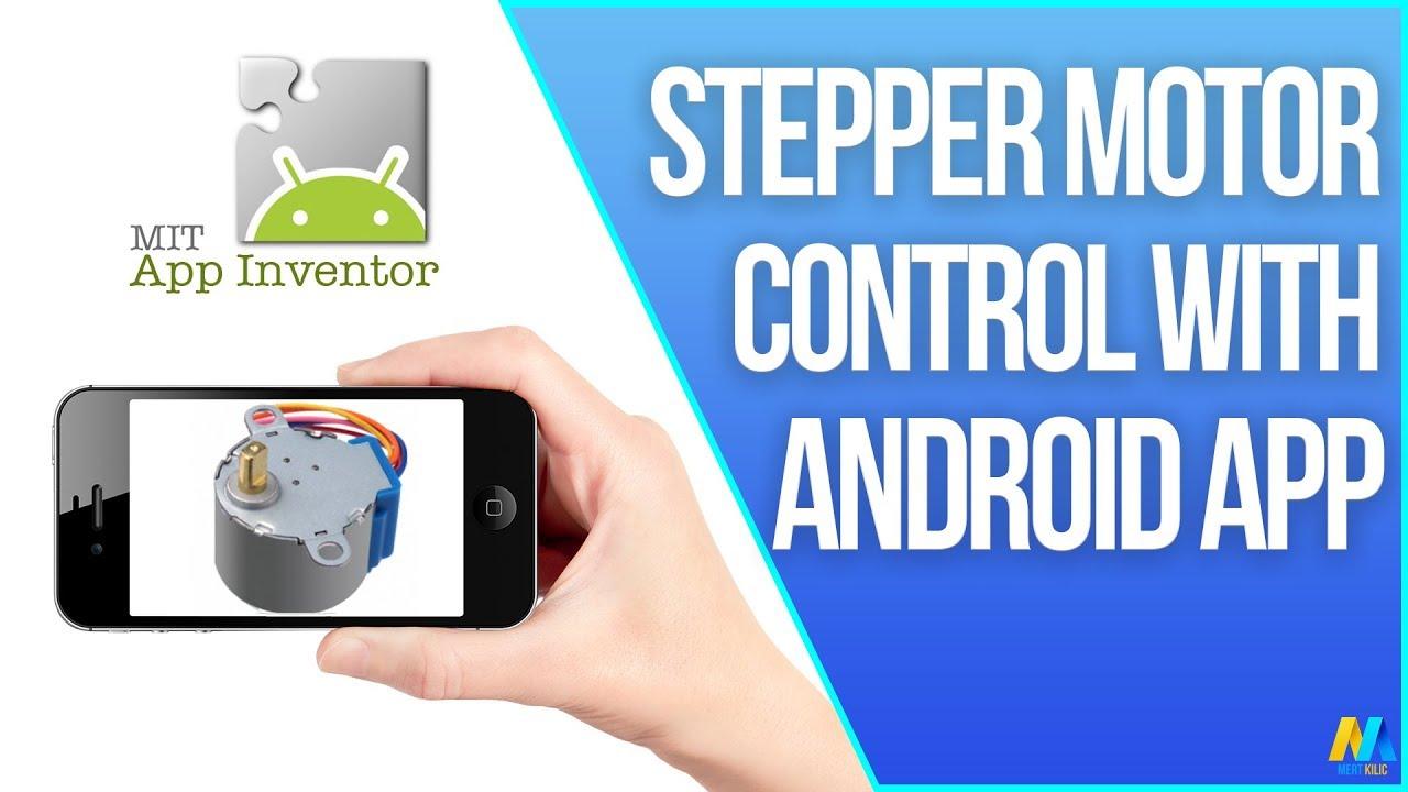 Arduino - Stepper Motor Control via Bluetooth