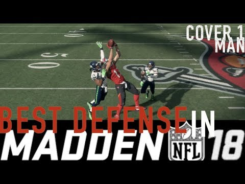 Madden 18 Tips - Best Defense in Madden NFL 18 | Why Man Coverage is So Good