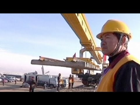 China 'targets infrastructure to lift economy'
