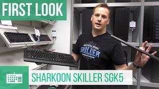 Sharkoon Skiller SGK5 Gaming Keyboard - First Look #Computex2018