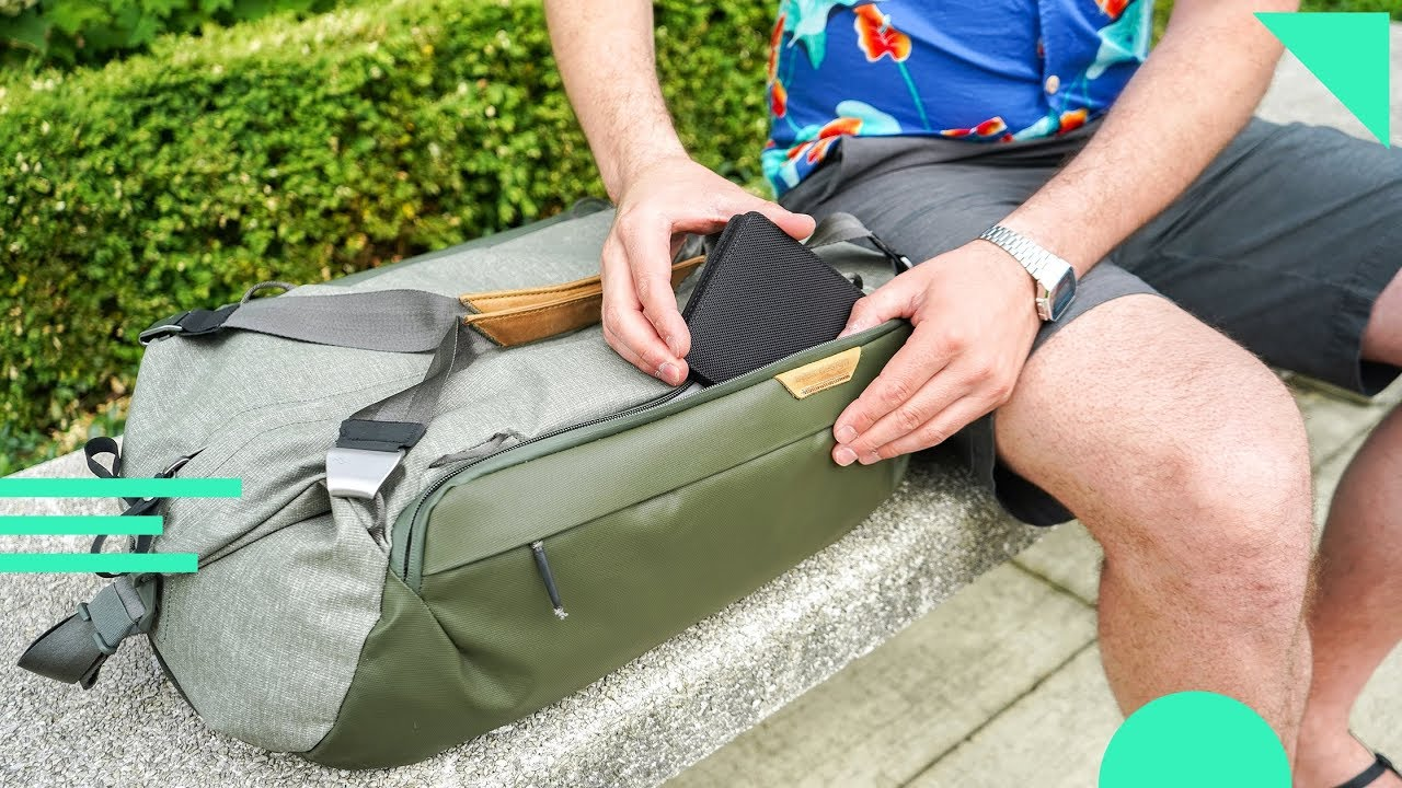 Download Peak Design Travel Duffel 35L Review   Carry-On Sized Duffle Bag With Smart Carry Features