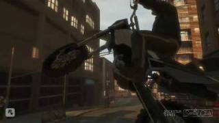 GTA 4 - Bike stunts & Fails