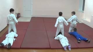 1.11.15 Открытый урок по дзюдо: разминка в парах. Дети 5 - 6 лет. Centre Judo Kids. Feodosiya