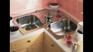 Small L Shaped Kitchen Design Corner Sink