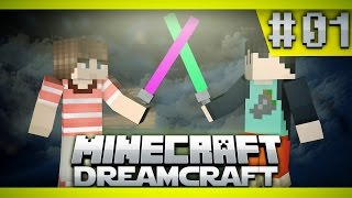 "Minecraft STAR WARS - ""THE FORCE AWAKENS!"" #1 (Minecraft Roleplay - DREAM CRAFT ModPack)"
