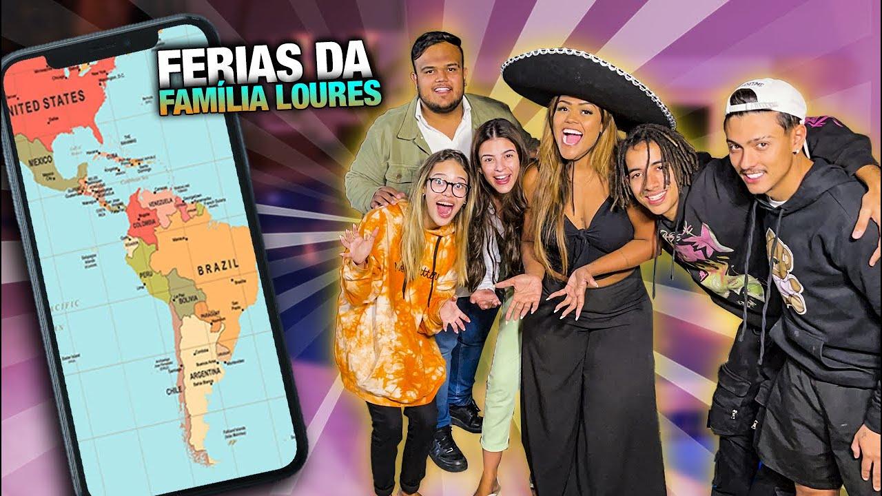FAMÍLIA LOURES VAI VIAJAR DE FERIAS!!!
