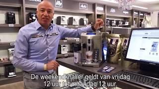 Delonghi PrimaDonna S De Luxe ECAM 28.465.M - cappuccino espressomachine