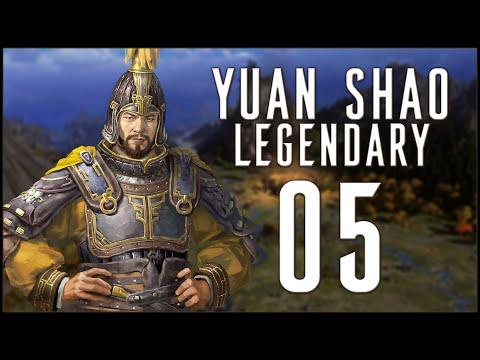 VASSAL ACQUISITION - Yuan Shao (Legendary Romance) - Three Kingdoms - A World Betrayed - Ep.05!