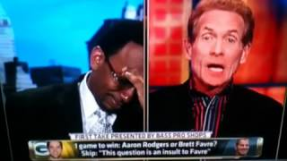 Skip and Stephen A- Skip would pick Tebow over Rodgers