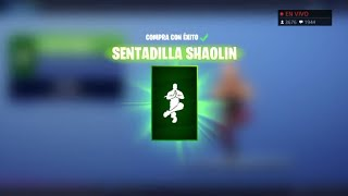 THE * STORE * OF FORTNITE TODAY DAY JANUARY 2 * NEW GESTURE * SENTANDILLA SHAOLIN AND ME SPENDING €100!
