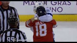 Jake Dotchin vs Micheal Haley Oct 7, 2017