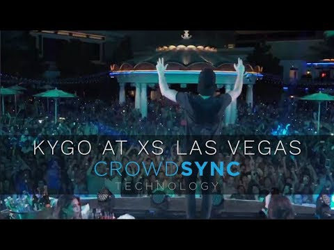 KYGO & CrowdSync LED Wristbands at XS Las Vegas