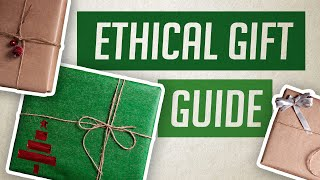 How to Gift more Ethically & Locally (despite the pandemic) 🌱 Eco Present Ideas 🎁🎉