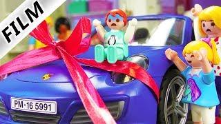 Playmobil Film deutsch EMMA GEWINNT PORSCHE - Kleinkind will Auto fahren | Kinderfilm Familie Vogel