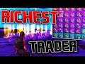 Fortnite's RICHEST Trader Gave Me The RAREST Loot! | Fortnite Save the World