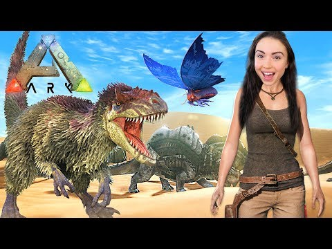 ARK: SURVIVAL EVOLVED - EXPLORING!! (Ark Scorched Earth)