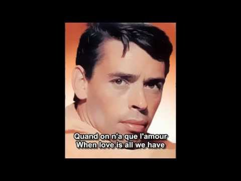 Quand on n'a que l'amour - Jacques Brel - French and English subtitles.mp4