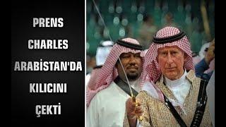 Prens Charles Arabistan'da kılıcını çekti