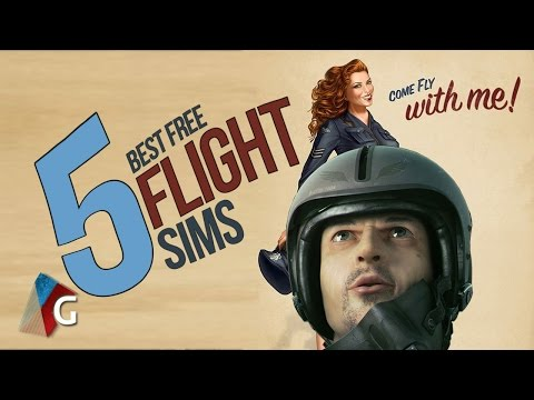 Top 5 Best Free Flight Simulators