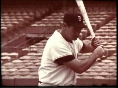 Batting with Ted Williams from 16mm film by R&M Video