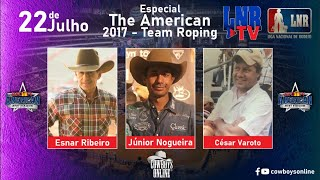 LNR TV 22/07/2020 The American 2017 - Team Roping