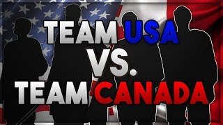 Team USA vs. Team Canada (2018 Olympic Rosters) - NHL 18 Sim