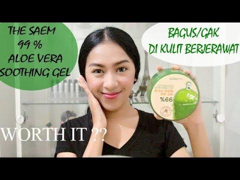 Review The Saem  Jeju Fresh Aloe Vera Soothing Gel