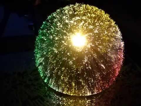 Glasfaserleuchte  Vintage Fibre Optic Lamp  YouTube