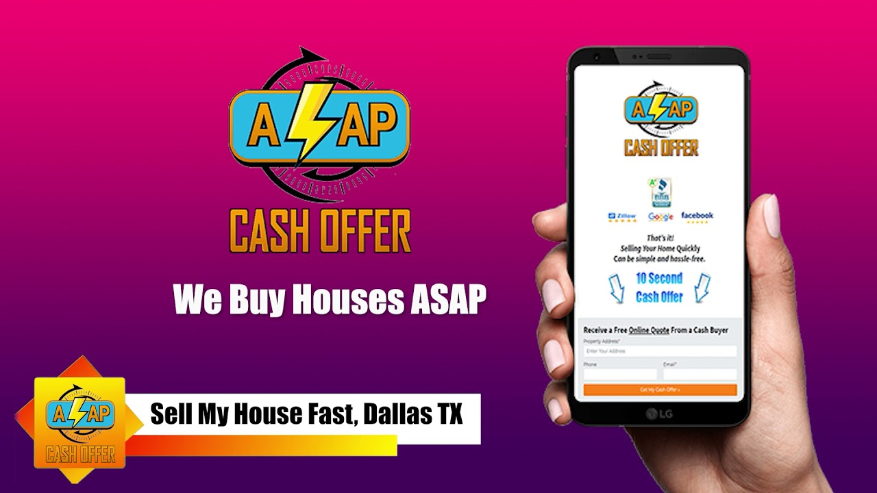Sell My House Fast Dallas TX 🏠 We Buy Houses