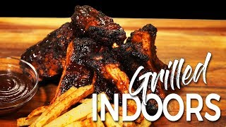 Can this INDOOR GRILL make AMAZING BABY BACK RIBS? - Ninja Foodi Grill
