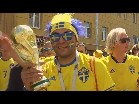 تدفق كبير لمشجعي المنتخب السويدي بعد مباراته أمام كوريا الجنوبية…  - نشر قبل 10 دقيقة