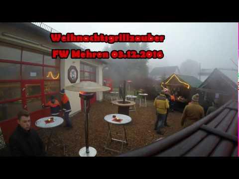Weihnachtsgrillzauber Feuerwehr Mehren 03.12.2016 #GoPro