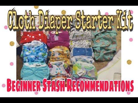 Cloth Diaper Starter Kit| Beginner Stash Recommendations