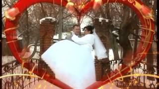 Свадебная прогулка зимой. Катя и Дима.