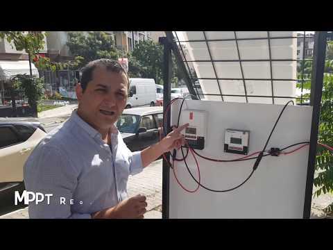 Yenilenebilir Enerji Sistemi ( Solar Panel ) Stand Tanıtımı