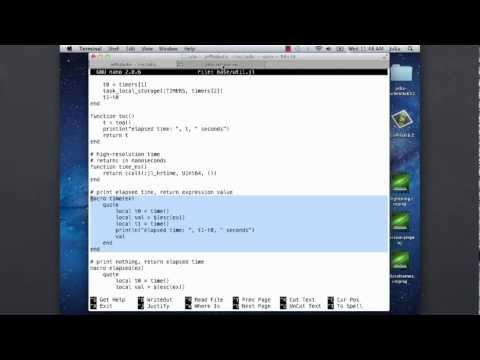 Metaprogramming and Macros in Julia (Stefan Karpinski)