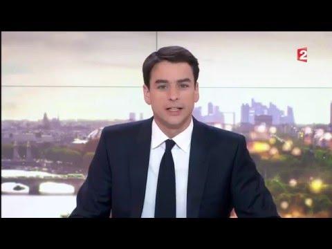 France 2 journal de 20h du 14 avril 2016   SANOFI