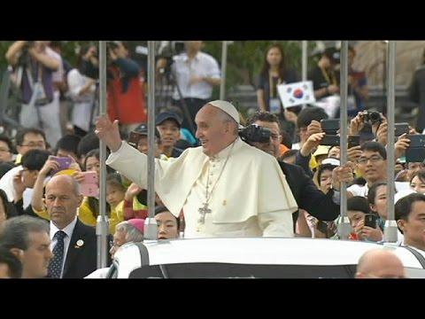 دیدار پاپ فرانسیس با اسقف ها و جوانان کاتولیک آسیایی