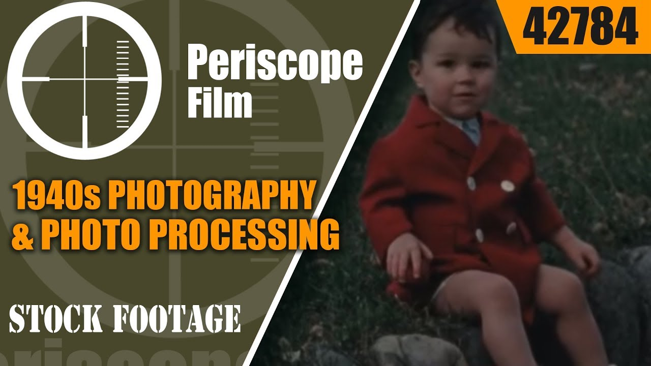 1940s PHOTOGRAPHY & PHOTO PROCESSING PROMOTIONAL FILM 42784