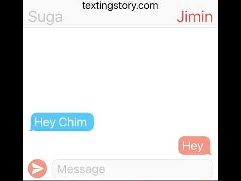 Sad Jimin, protective Yoongi (Yoonmin TextingStory fanfic)