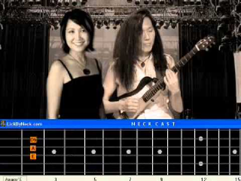 I Hope You Dance Guitar Lesson Fingerstyle Solo Chord Melody.avi ...
