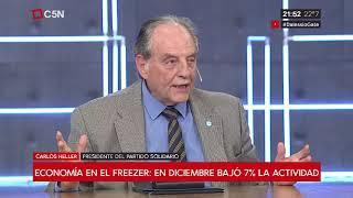 27-02-2019 - Carlos Heller en C5N – Minuto Uno, con Gustavo Sylvestre