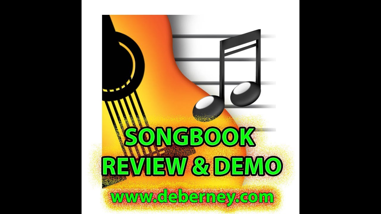 SONGBOOK APP for iPad, IPhone, PC, Surface, Mac - review and demo