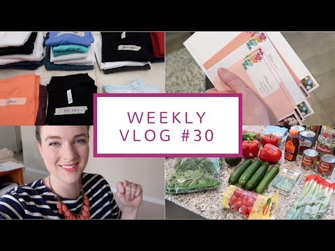 Desk/Office Space Tour, Healthy Meals, + Etsy, Etsy, Etsy!  | Weekly Vlog #30 | April 16-19, 2018