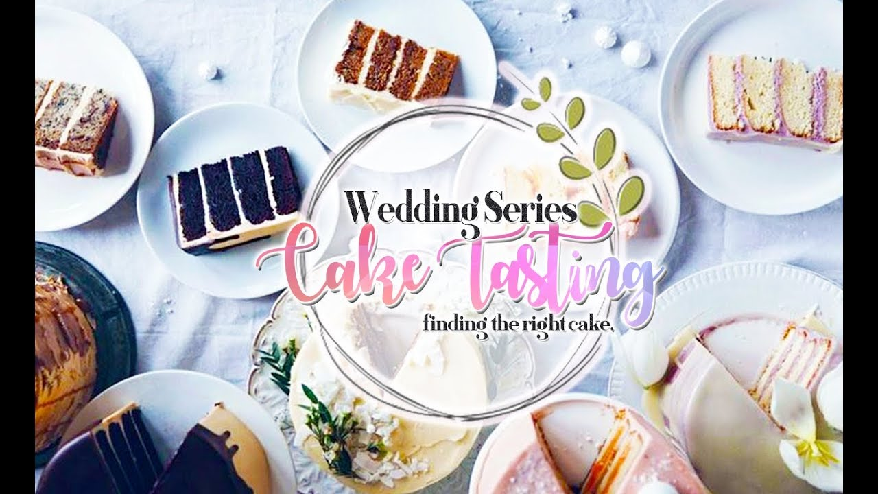 Wedding Cake Tasting Vlog