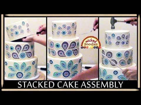 how to make a stacked cake